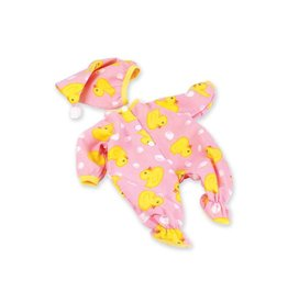 "MADAME ALEXANDER PINK DUCK SLEEPER & HAT 19"" DOLL OUTFIT"