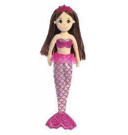 "AURORA SEA SHIMMER MERMAID 18"" DOLL"