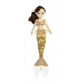 "AURORA SEA SHIMMER MERMAID 18"" DOLL ANGELIQUE"