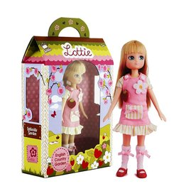 SCHYLLING ASSOCIATES LOTTIE DOLL ENGLISH COUNTRY GARDEN