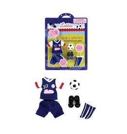 SCHYLLING ASSOCIATES LOTTIE DOLL OUTFIT GIRLS UNITED SOCCER