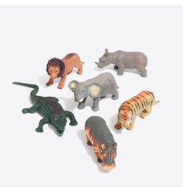 TOYSMITH SAFARI SQUISHIMALS