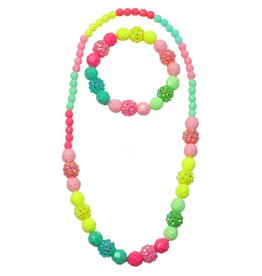 CREATIVE EDUCATION VIVIDLY VIBRANT NECKLACE & BRACELET