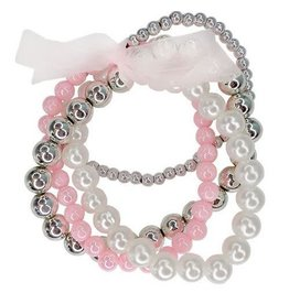 CREATIVE EDUCATION PEARLY TO WED BRACELETS