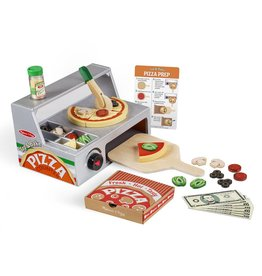 MELISSA AND DOUG TOP & BAKE PIZZA OVEN PLAY SET