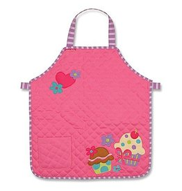 STEPHEN JOSEPH CUPCAKE QUILTED APRON