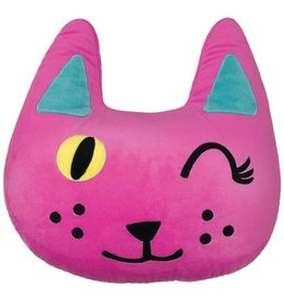 ISCREAM WINKING CAT PILLOW*