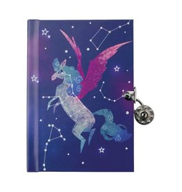 CHRONICLE PUBLISHING PEGASUS CONSTELLATION LOCKED DIARY