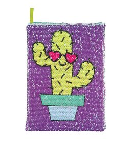 FASHION ANGELS CAN'T TOUCH THIS CACTUS MAGIC SEQUIN JOURNAL