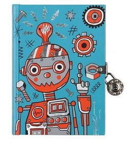 CHRONICLE PUBLISHING ROBOT LOCKED DIARY