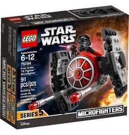 LEGO FIRST ORDER TIE FIGHTER MICROFIGHTER