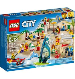 LEGO FUN AT THE BEACH PEOPLE PACK