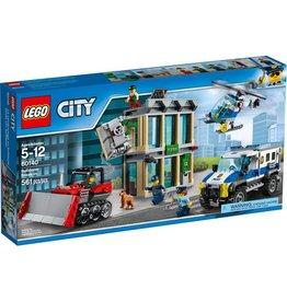 LEGO BULLDOZER BREAK IN