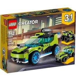 LEGO ROCKET RALLY CAR CREATOR