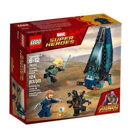 LEGO OUTRIDER DROPSHIP ATTACK