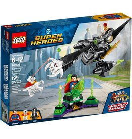 LEGO SUPERMAN & KRYPTO TEAM UP
