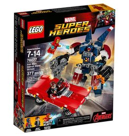 LEGO IRON MAN DETROIT STEEL STRIKES