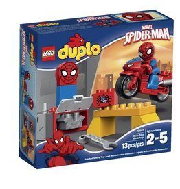 LEGO SPIDERMAN WEB BIKE WORKSHOP*