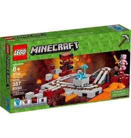 LEGO THE NETHER RAILWAY MINECRAFT