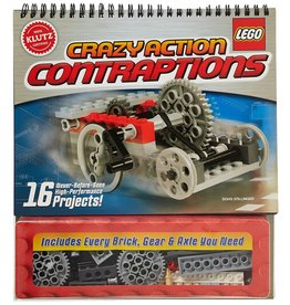 KLUTZ LEGO CRAZY ACTION CONTRAPTIONS KLUTZ