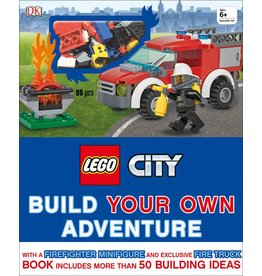 DK PUBLISHING LEGO CITY BUILD YOUR OWN ADVENTURE HB DK
