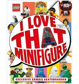DK PUBLISHING I LOVE THAT MINIFIGURE! HB
