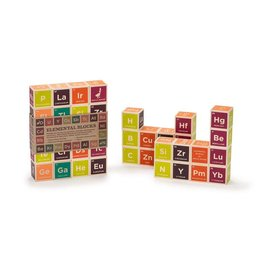 UNCLE GOOSE LINDENWOOD PERIODIC TABLE BLOCKS