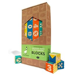 UNCLE GOOSE LINDENWOOD MATH & PATTERNING BLOCKS