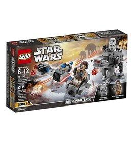 LEGO SKI SPEEDER VS F.O. WALKER MICROFIGHTERS