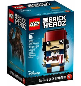 LEGO BRICKHEADZ CAPTAIN JACK SPARROW*