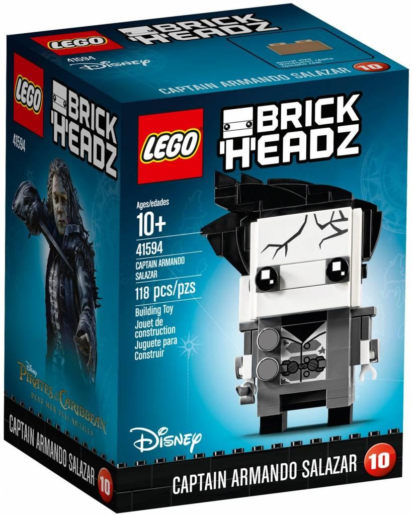 LEGO BRICKHEADZ CAPTAIN ARMANDO SALAZAR**