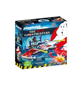 PLAYMOBIL GHOSTBUSTERS ZEDDEMORE WITH AQUA SCOOTER
