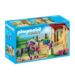 PLAYMOBIL HORSE STABLE WITH ARABIAN PLAYMOBIL