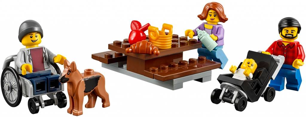 LEGO FUN IN THE PARK PEOPLE PACK*