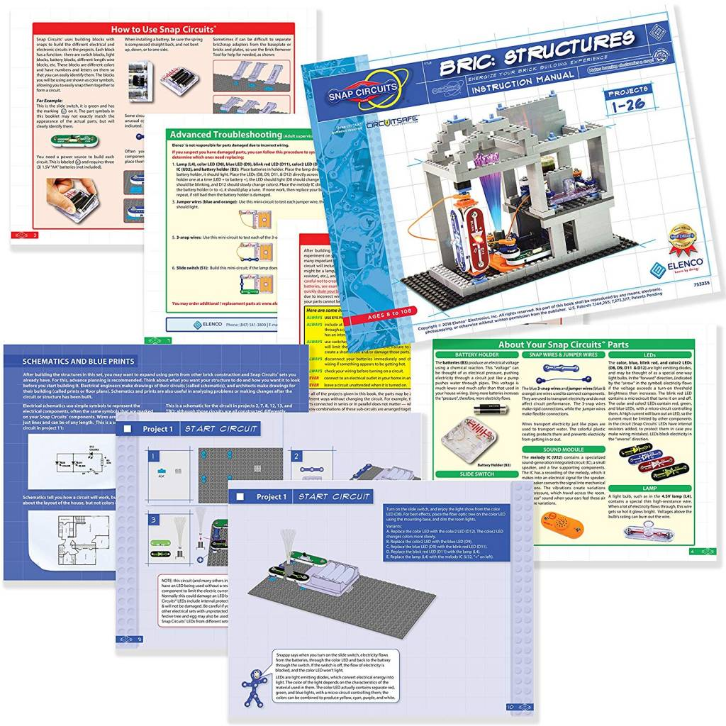 Snap Circuits Bric Structures The Toy Store Circuit For Kids