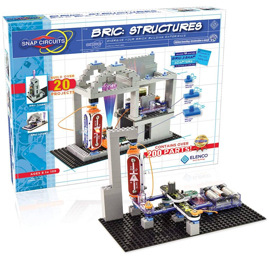 Snap Circuits Bric Structures The Toy Store Elenco Electronic Set