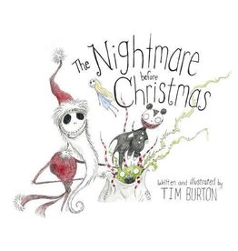 HACHETTE BOOK GROUP NIGHTMARE BEFORE CHRISTMAS HB BURTON