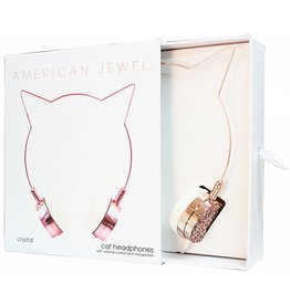 AMERICAN JEWEL CAT HEADPHONES