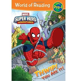 HACHETTE BOOK GROUP SPIDER-MAN THWIP YOU ARE IT PB MARVEL (WORLD OF READING)