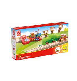 HAPE MUSIC AND MONKEYS RAILWAY