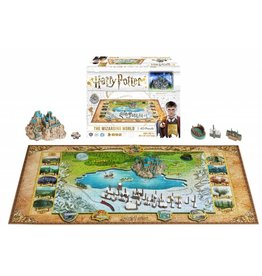 HARRY POTTER 4D PUZZLE OF WIZARDING WORLD