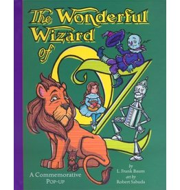 SIMON AND SCHUSTER WONDERFUL WIZARD OF OZ POP UP HB SABUDA