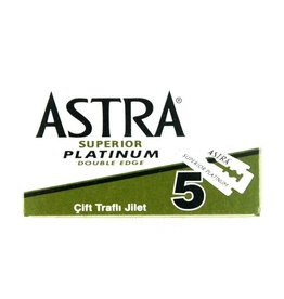 Astra Platinum Double Edge Blades