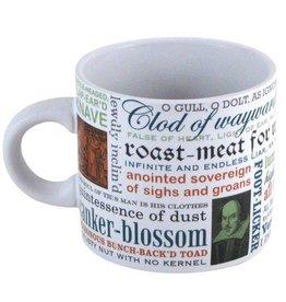 Unemployed Philosophers Guild Shakespearean Insults Mug