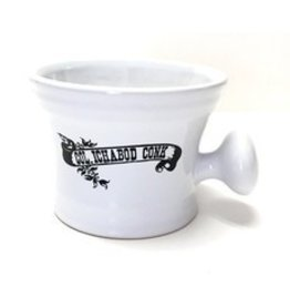 Col. Conk Col. Conk White Apothecary Mug w/ Black Logo