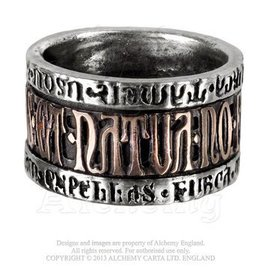 Alchemy of England Deus Et Natura Ring