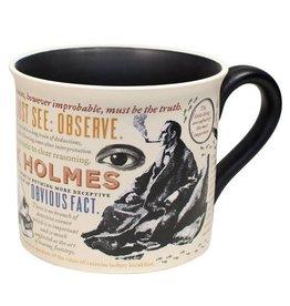 Unemployed Philosophers Guild Sherlock Holmes Mug