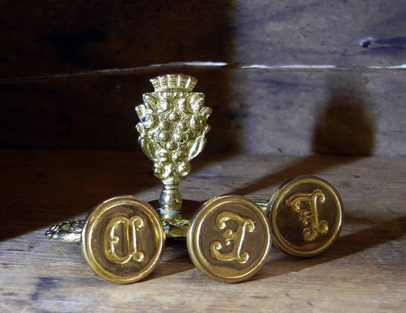 Freund Mayer Brass Seal A-M