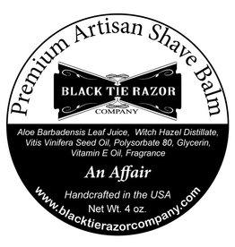 Black Tie Razor Company Black Tie Razor Co. Post-Shave Balm - An Affair