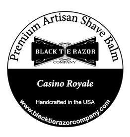 Black Tie Razor Company Black Tie Razor Co. Post-Shave Balm - Casino Royale